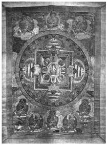 Мандала Авалокитешвары