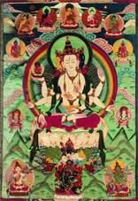 Ушнишавиджая и дхъяни-будды