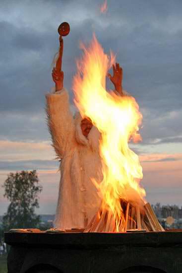 Обряд связанный с огнем