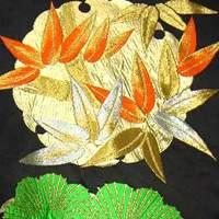 кимоно учикакес орнаментом