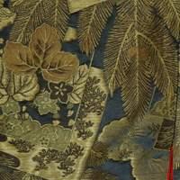 кимоно учикакес еловыми ветвями