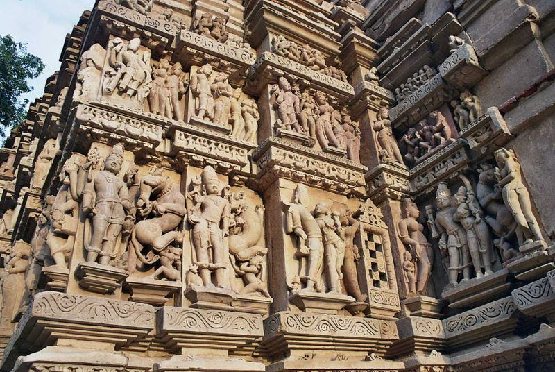 Храм Кандарья Махадева в Кхаджурахо (Камасутра в камне) / Чертежи ... | 536x800