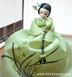 Куклы в корейских исторических